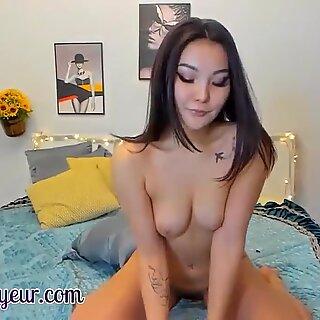 Asian Lesbians Masturbating