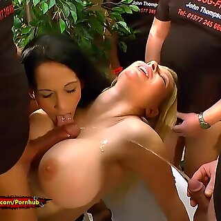 Extreme Pissing with Melanie Moon And Aymie - 666Bukkake