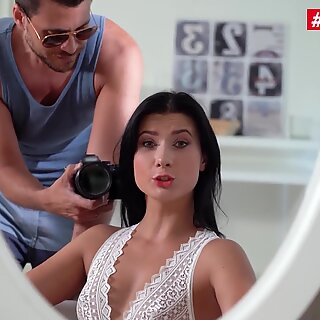 HerLimit - Nicole Black Big Ass Kazakh Babe Rough Anal Fucking And Gaping From A Big White Cock