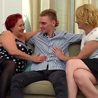 Taboo sex with mothers and granny