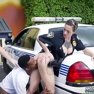 Monster cock blowjob milf and orgasm I will catch any perp with a gigantic dark-hued