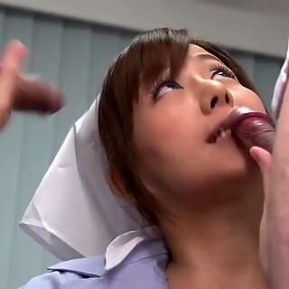 Brave and daring Japanese nurse works the second shift.