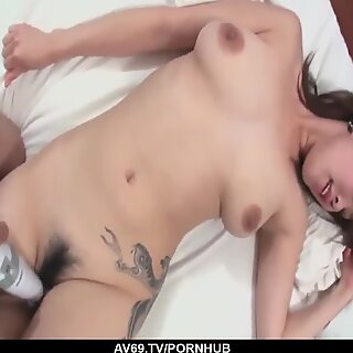 Mind blowing home POV with busty Asami Uemura