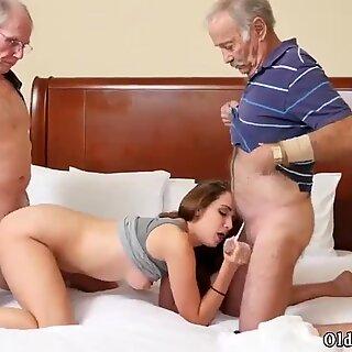 Teen loves old men and wrinkled granny Introducing Dukke