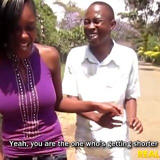 Local Nigerian Babe Fucked In Bathroom