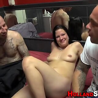 Real hooker gets facial