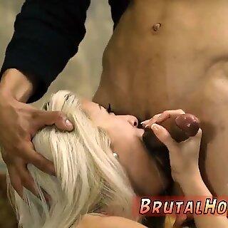 Blonde anal domination and slave brutal gangbang Big-breasted blonde bombshell Cristi Ann