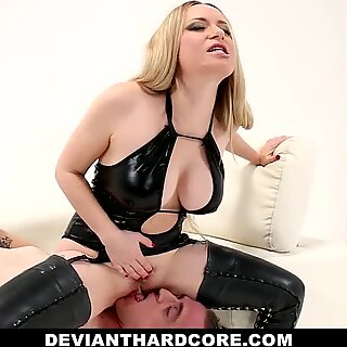 Deviant Hardcore - Submissive Sissy Pegged By Aiden Starr