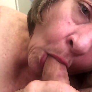 Post fucking blowjob
