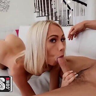 MOFOS - Skinny small tit blonde Sky Pierce fucks POV