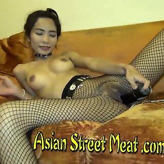 Asian Girlette Fucks Foreign Daddy