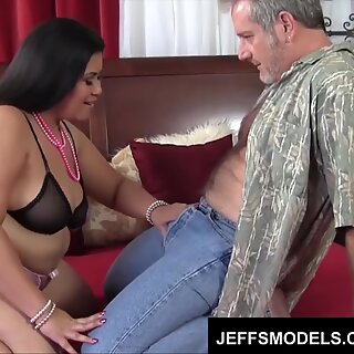 Chunky Tyung Lee shows an old guy what fucking's all about