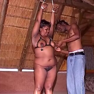 real african bbw fetish lesson