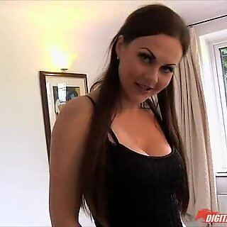 Lusty babe Tina Kay fucked by fat cock