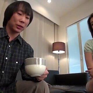 Marina Matsumoto gets fucked until a huge creampie end
