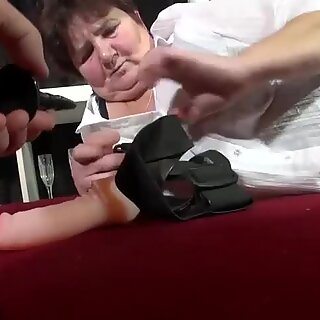 Busty BBW Old Mature Granny Compilation