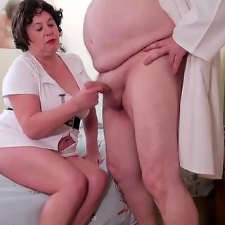 AgedLovE Busty Nurse with Doctor