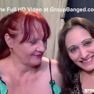 Teen and Cougar Fucking Every Cock