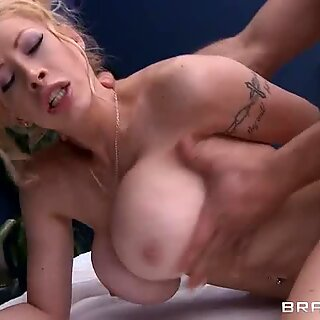 Candy Mason takes a huge dick deep in her hot pussy